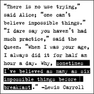 Alice and Wonderland Quote